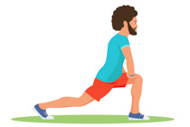 Free fitness and clip. Exercising clipart exercise man