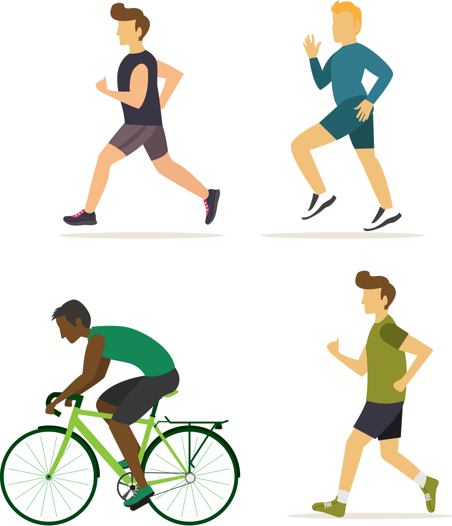 Exercising clipart physical play. Exercise fitness stretching walking