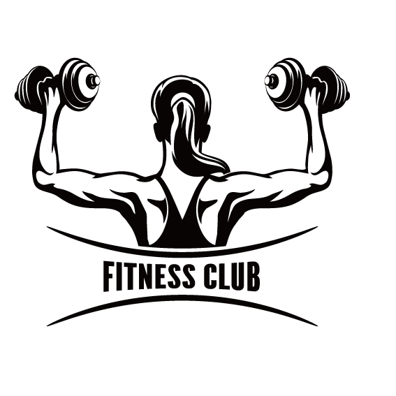 Centre physical clip art. Dumbbell clipart woman fitness