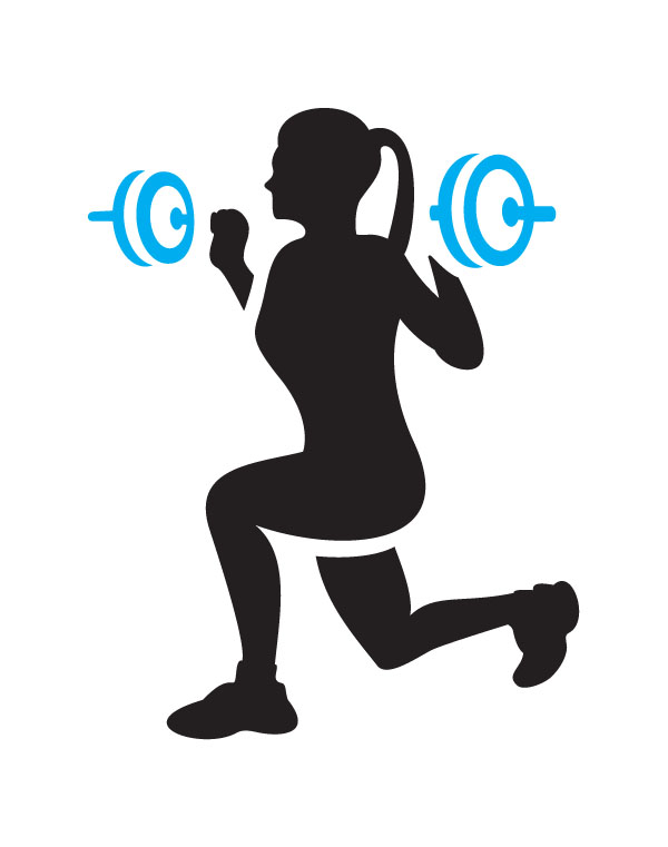 Exercise clipart female exercise. Physical fitness centre clip