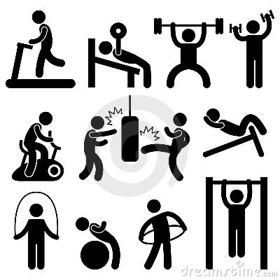 workout clipartlook. Exercise clipart fitness training
