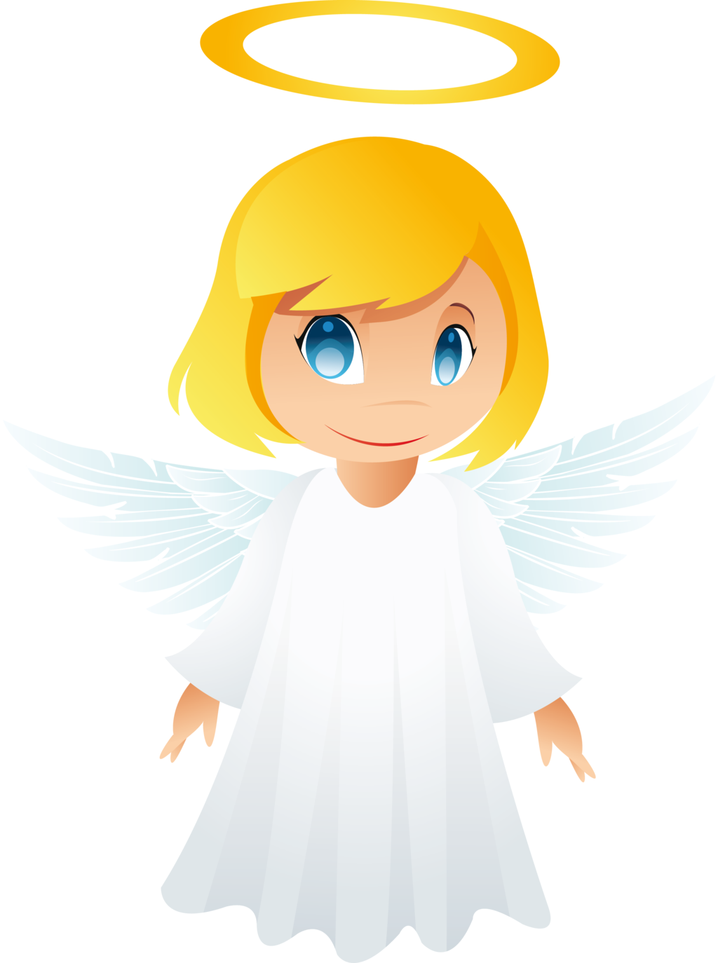 Elena the hygiene angel. Clipart exercise gentle