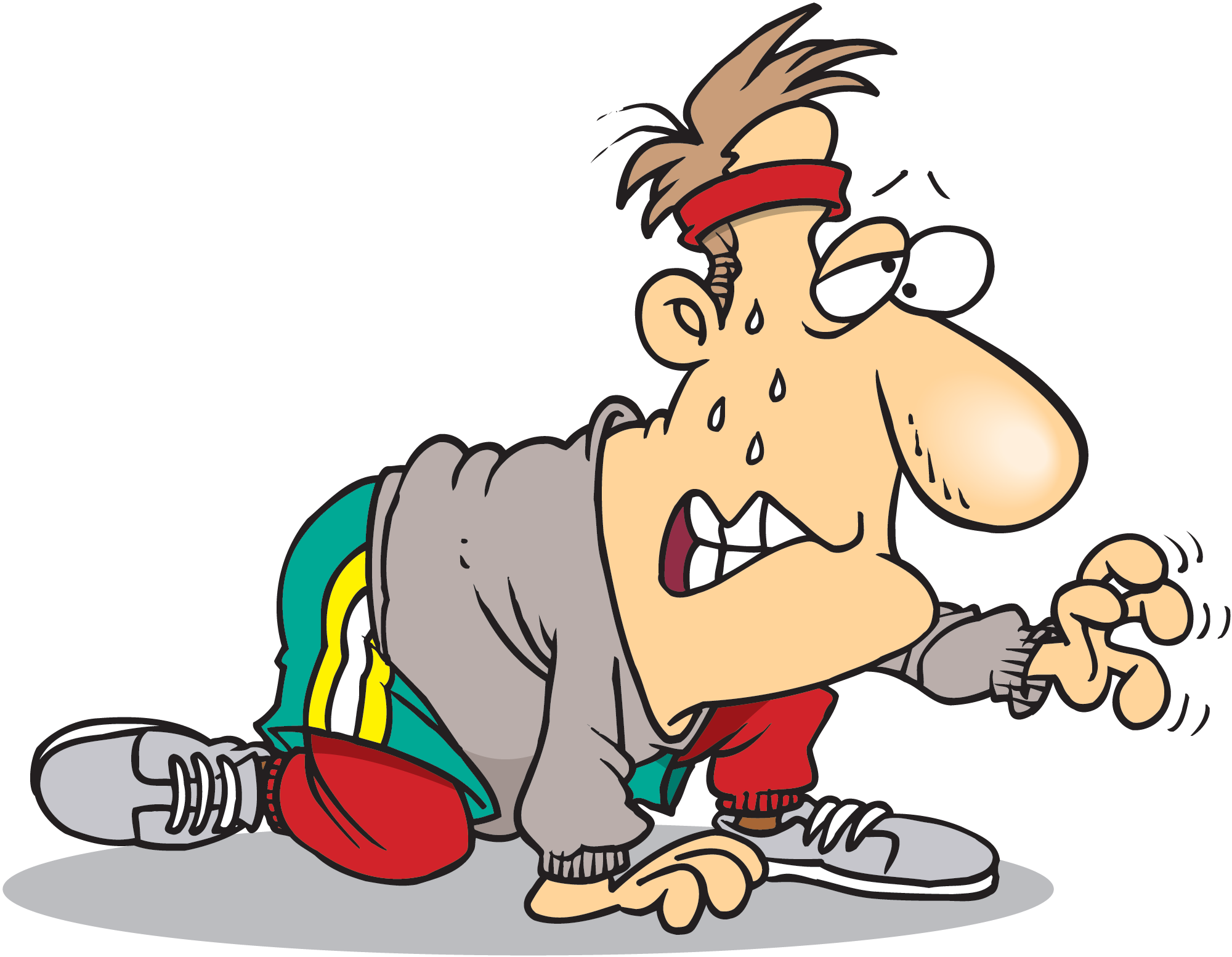 Running page richard slims. Exercising clipart exercise cartoon
