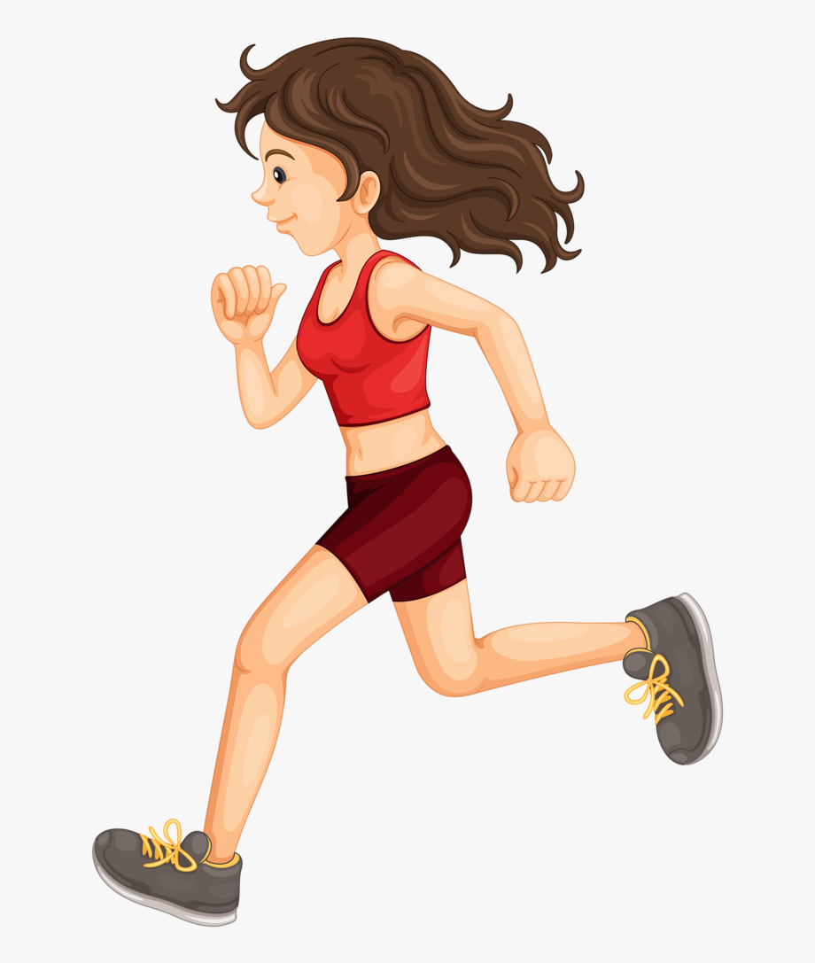 Png . Exercise clipart girl exercise