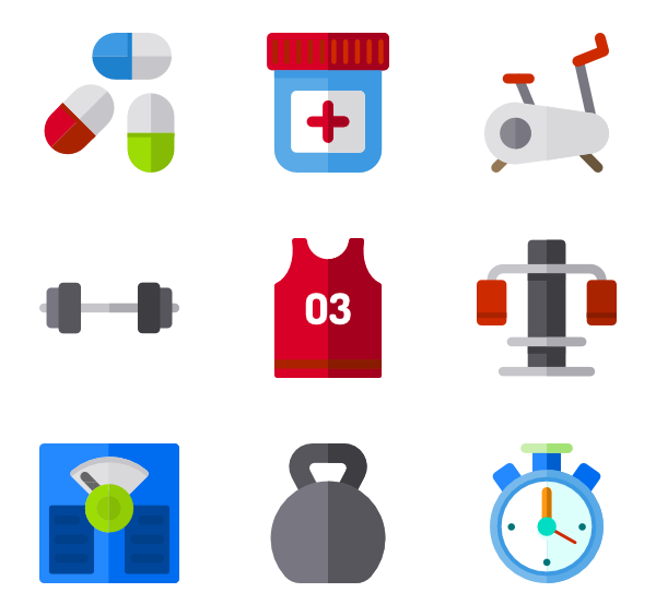 Dumbbells clipart gym tool.  equipment icon packs