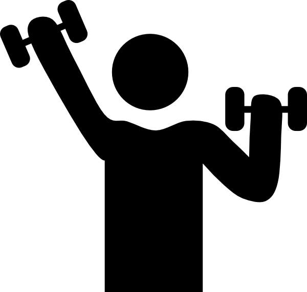 Free cliparts download clip. Exercise clipart muscle