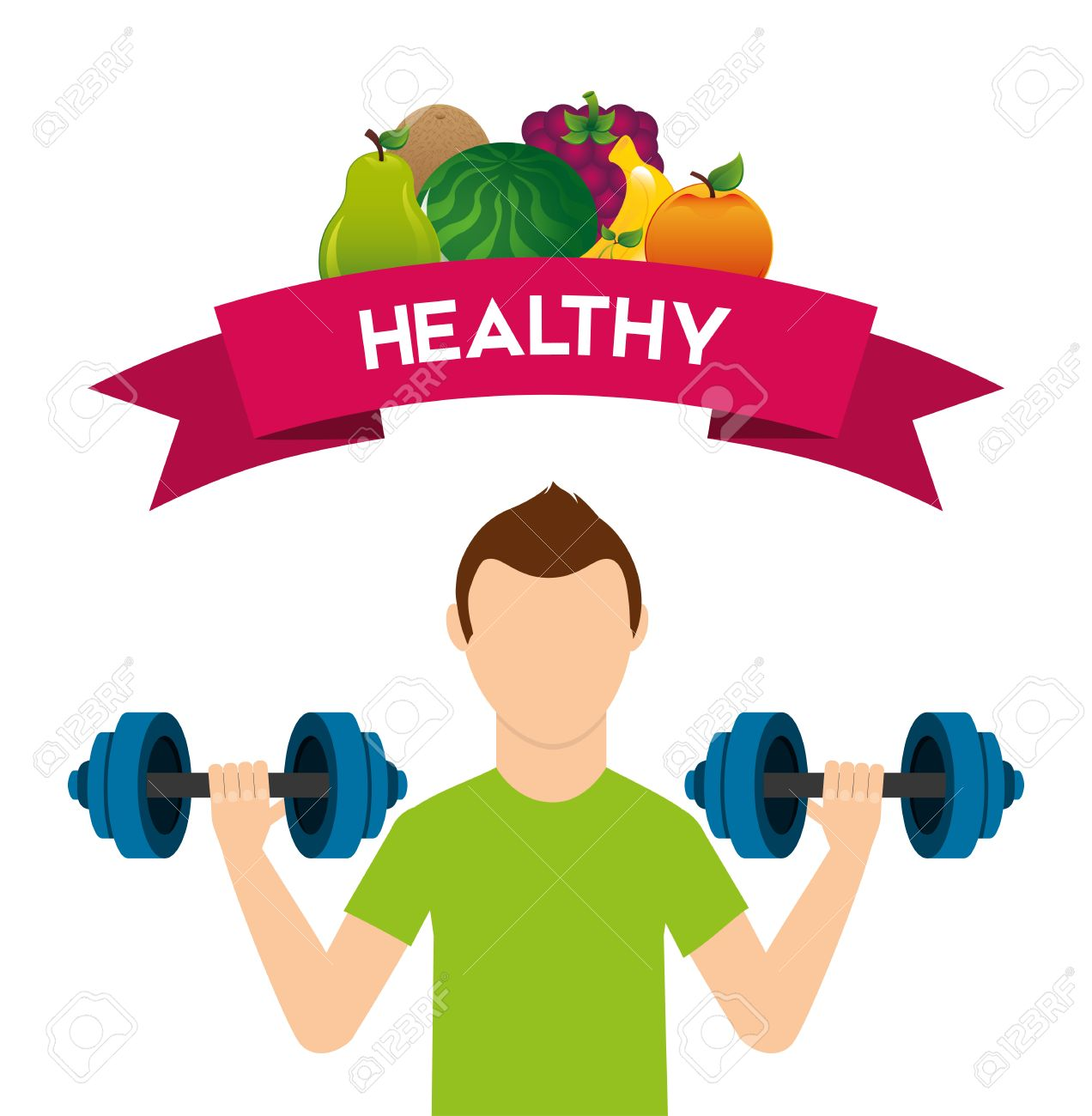 Images of lifestyle free. Exercise clipart healthy living