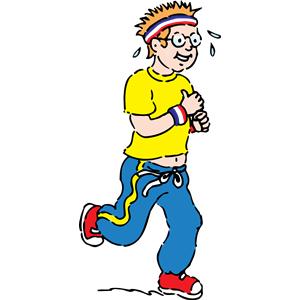 Exercise clipart jogging. Clip art panda free