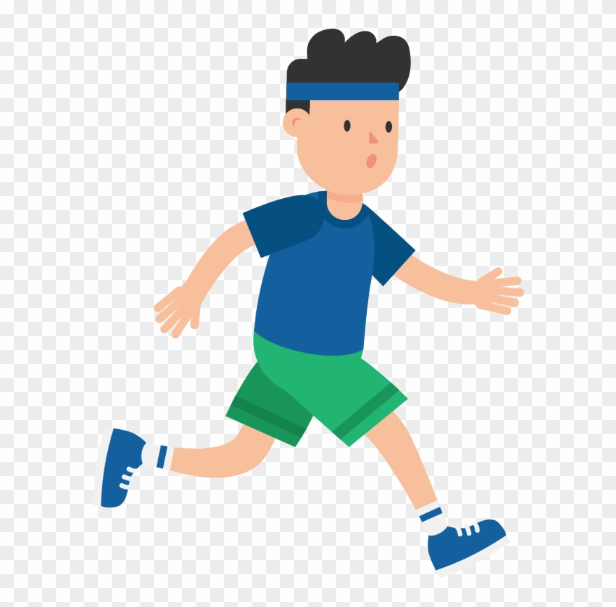Exercising clipart jogging. Portable network graphics png