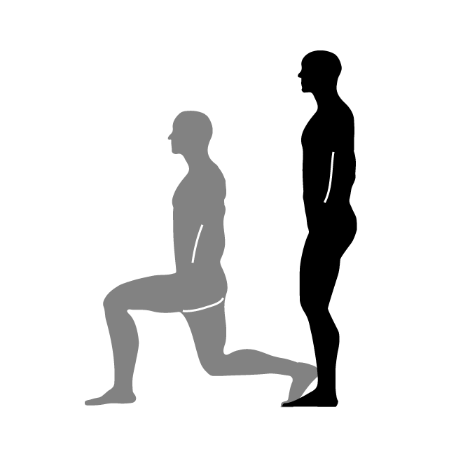 Lunges level pinterest and. Clipart exercise jumping jack