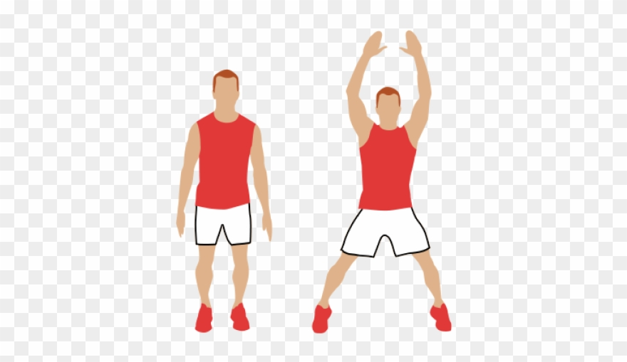 Exercise clipart jumping jack. Moves kid jacks