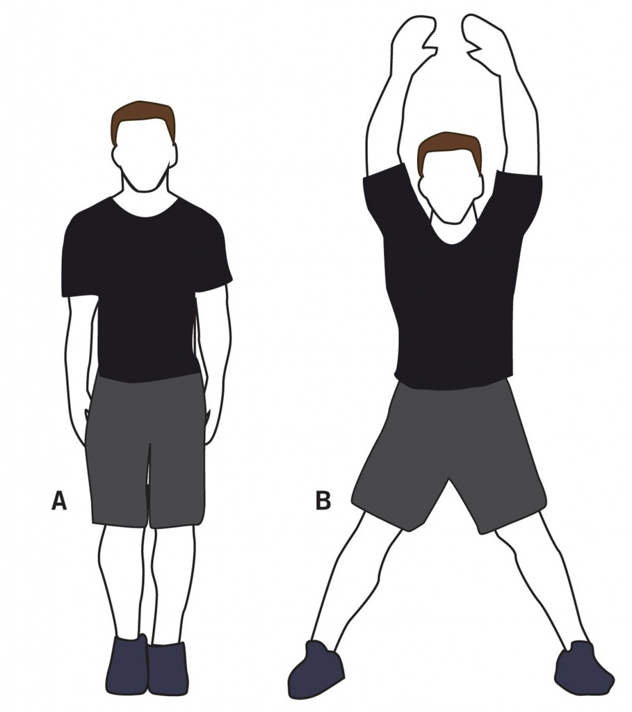 Exercising clipart jumping jacks. The history of jack