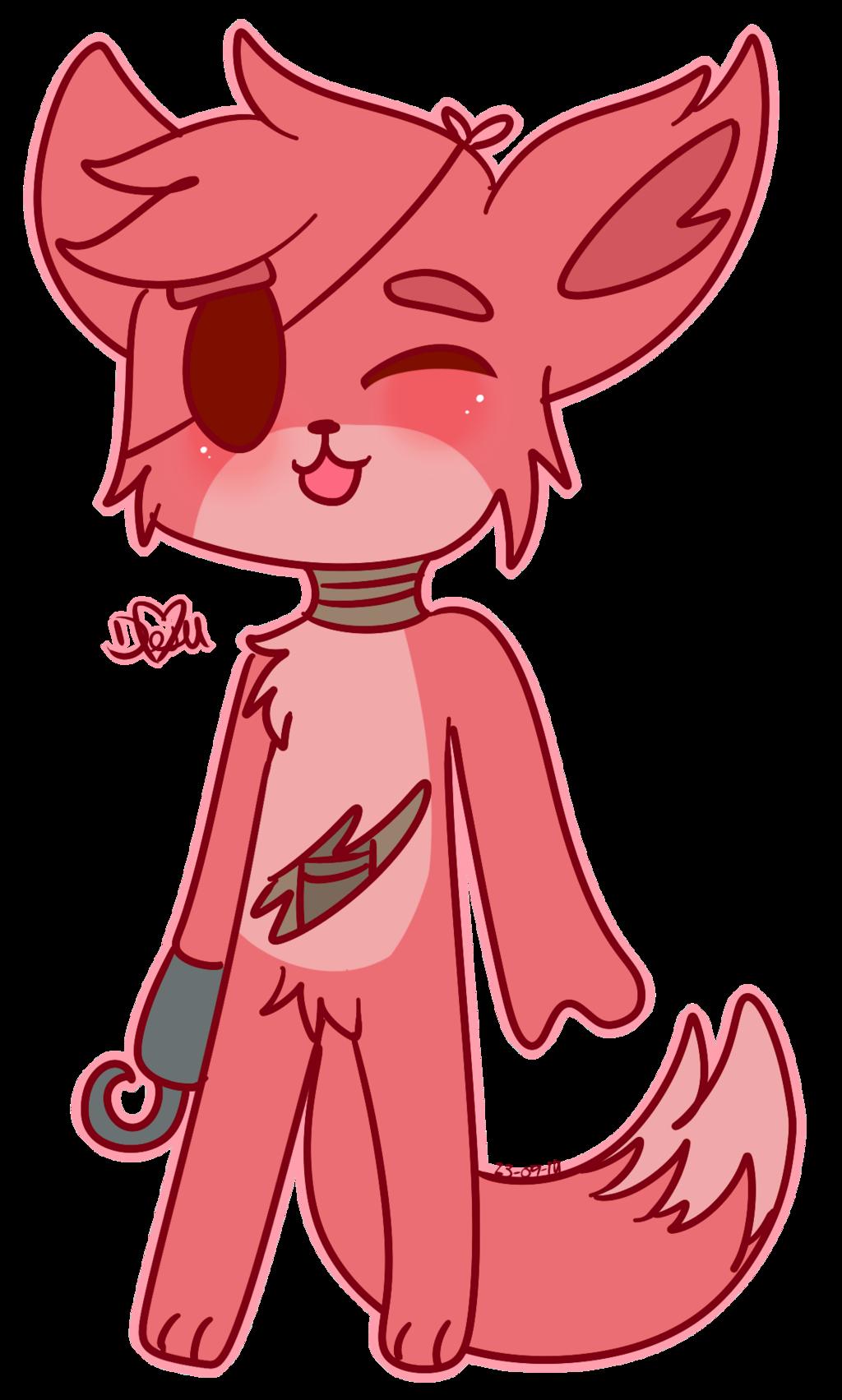 Kawaii clipart soda. Foxy by chicapitufa deviantart