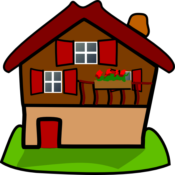 Cartoons creations pinterest cartoon. Outside clipart girl house