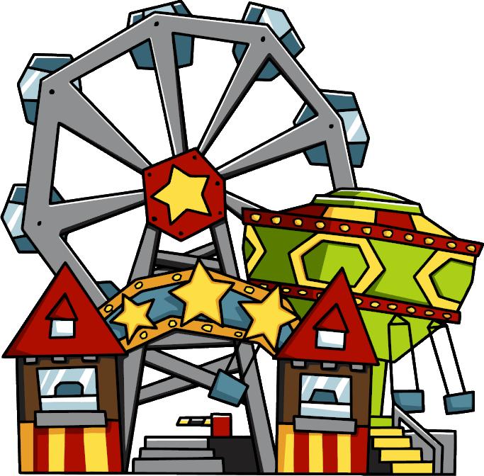 collection of amusement. Fair clipart adventure park
