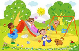 Kids at google search. Playground clipart cute