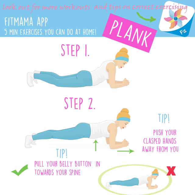 Clipart exercise proper exercise. Behappymum home exercises with