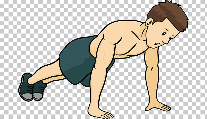 Exercising clipart push up. Exercise warming png abdomen