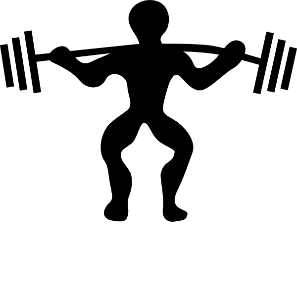 Free supervised training for. Exercise clipart resistance exercise