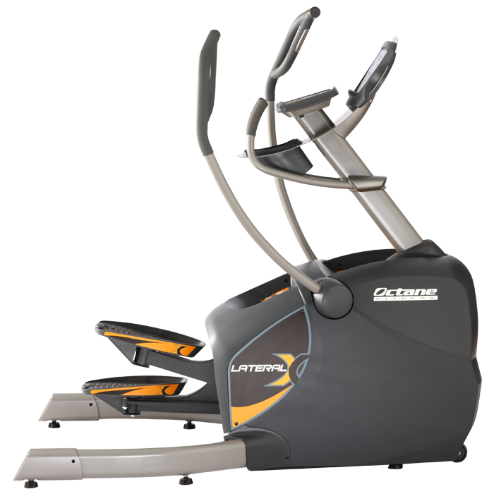 Exercising clipart running machine. Octane lateral x crosstrainer