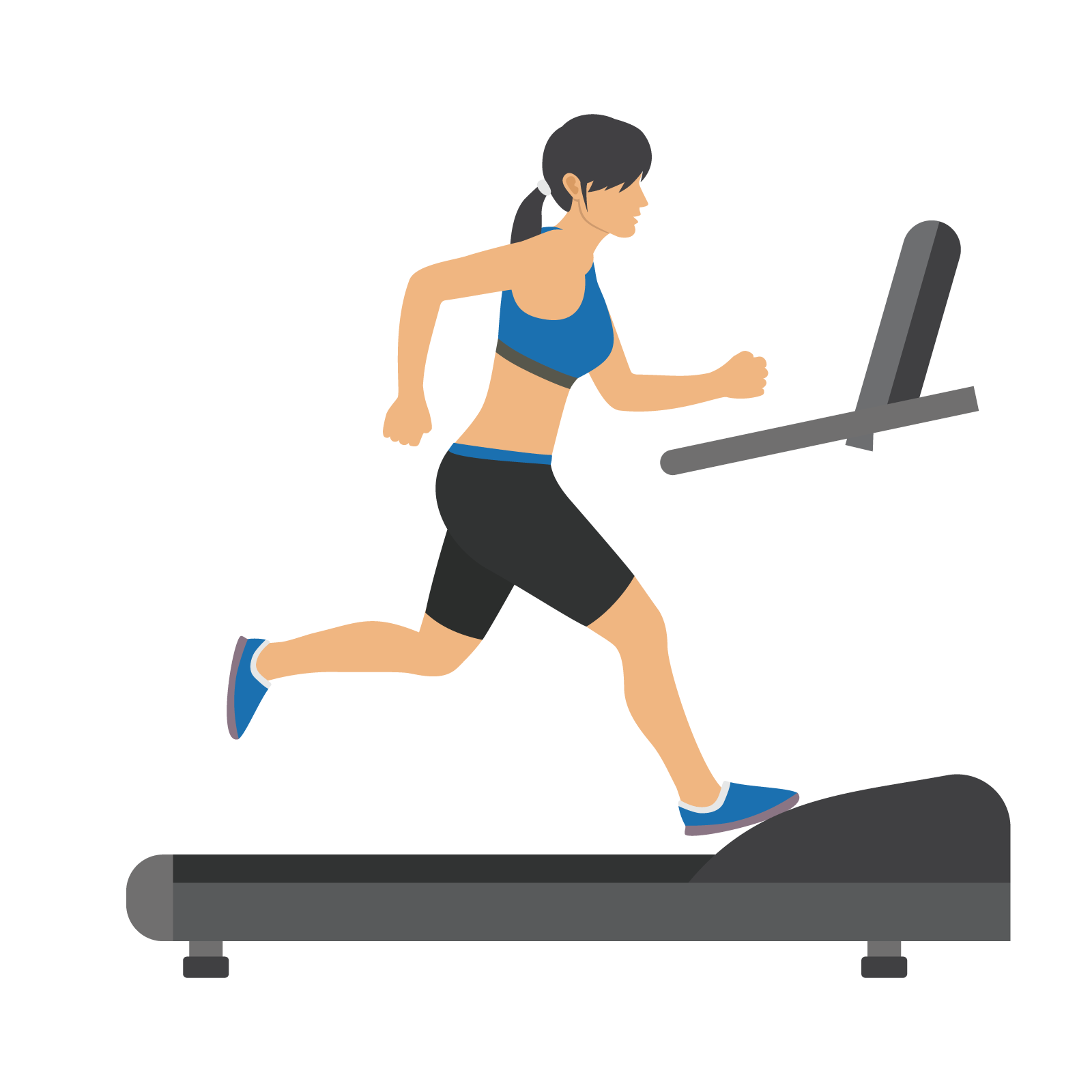 Exercise clipart running machine. How to avoid treadmill