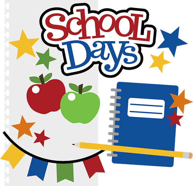 English exercises a day. Exercise clipart school