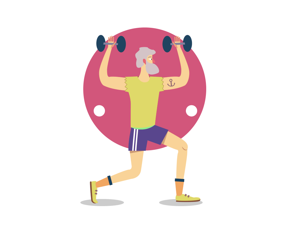 Weight clipart senior health. Exercise for seniors a