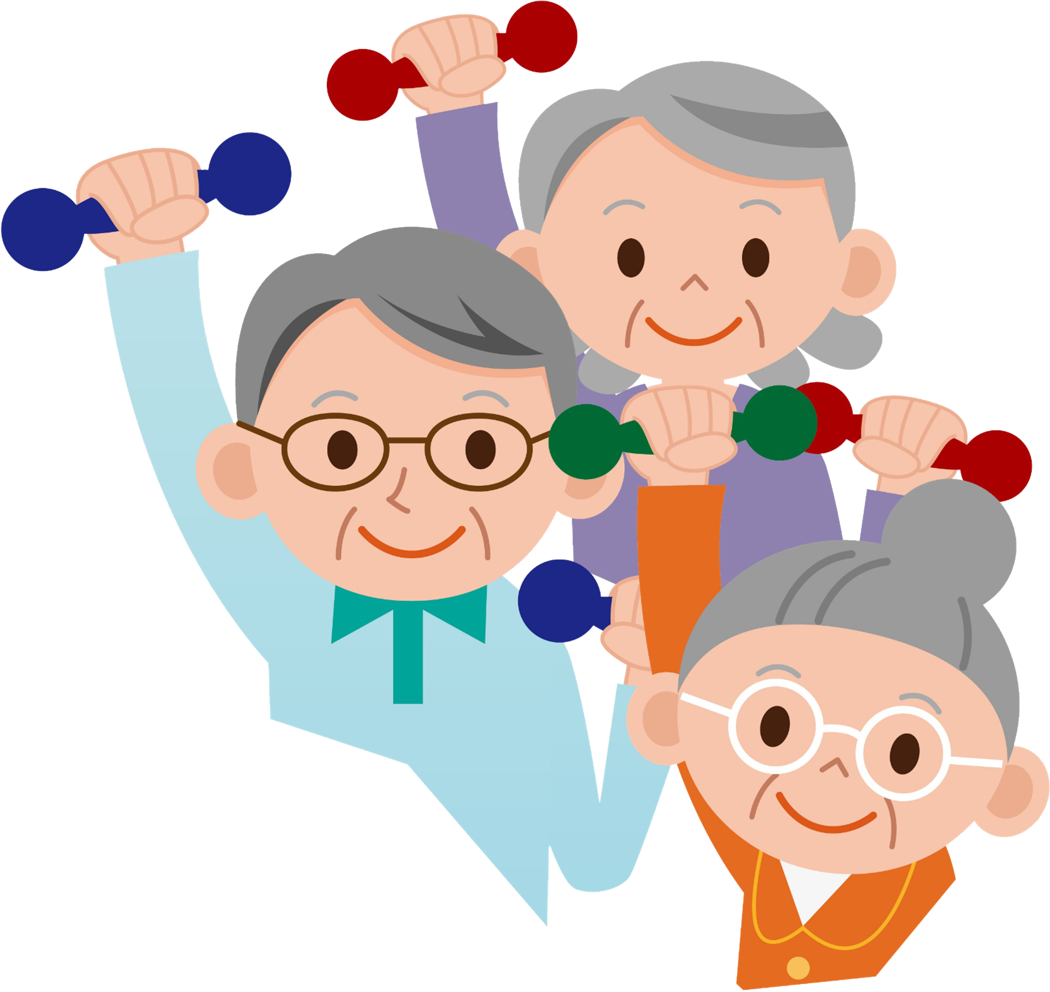 Devfitforall online platform for. Old clipart aged person