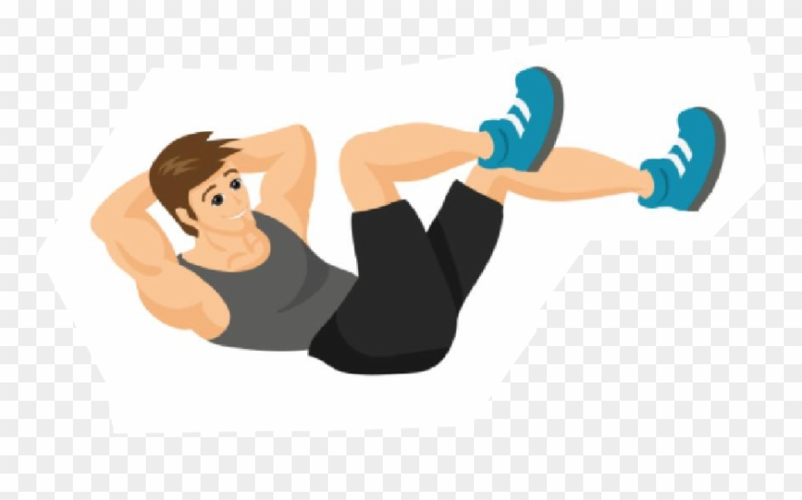 Exercise clipart sit ups. Exercising png download