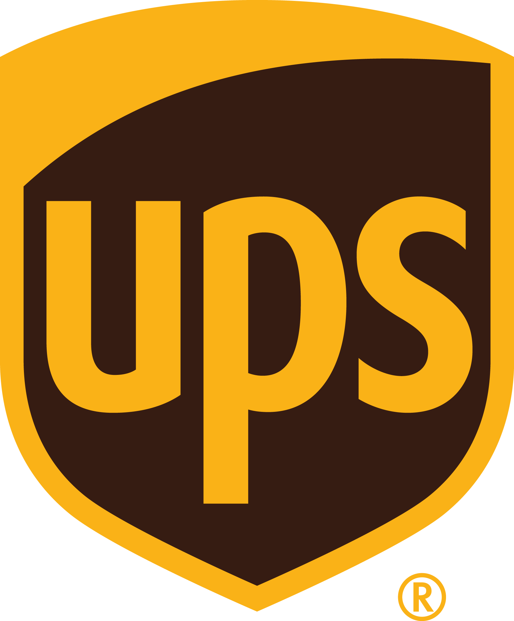 Ups logo united parcel. Exercise clipart pull up