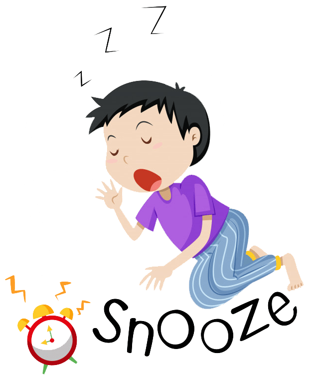 How i cure insomnia. Tired clipart lack energy