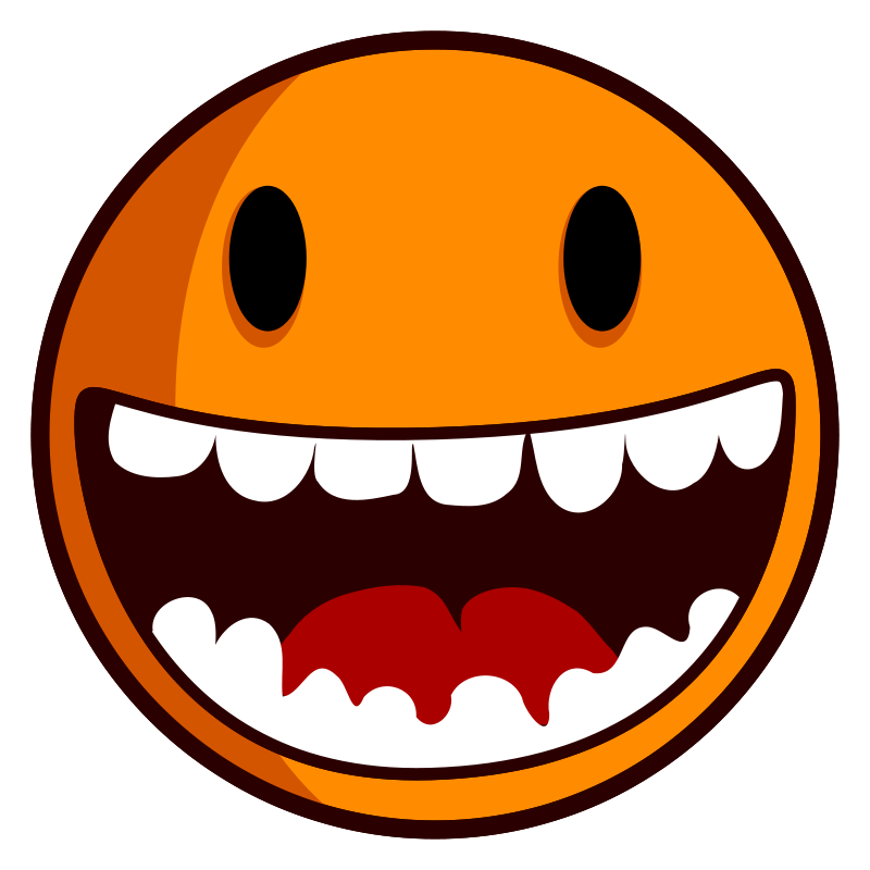 Happy face quotes really. Excited clipart expression