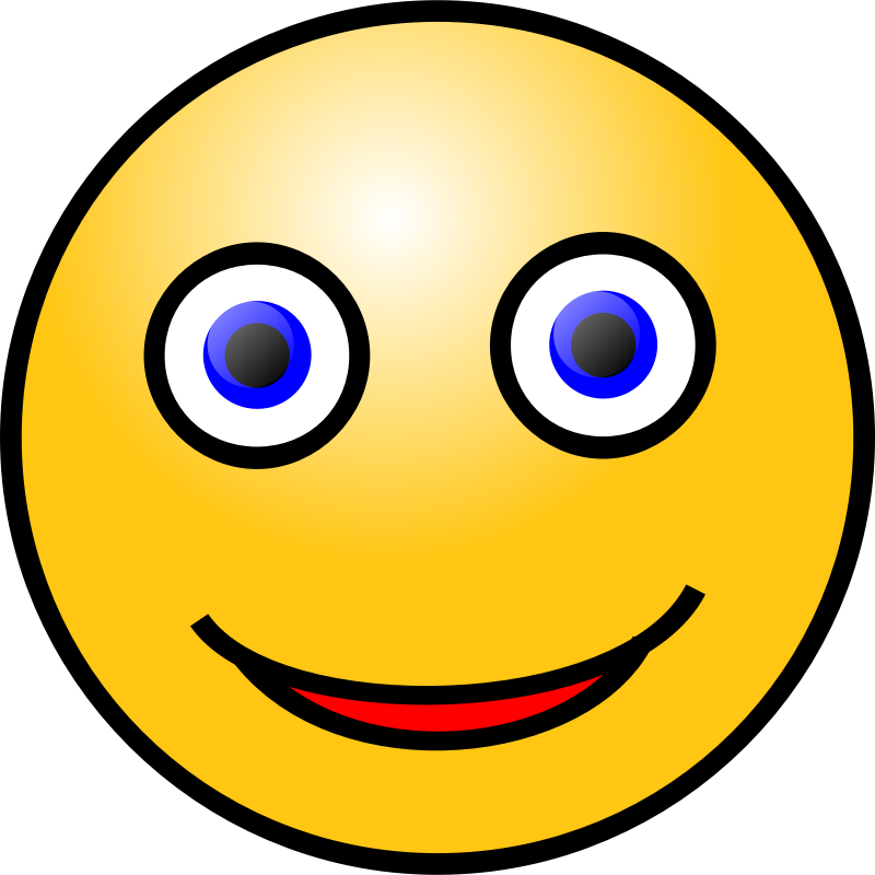 Focused face mood board. Focus clipart stunned