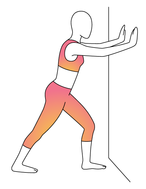 Exercising clipart stretches. Physera physical therapy workouts