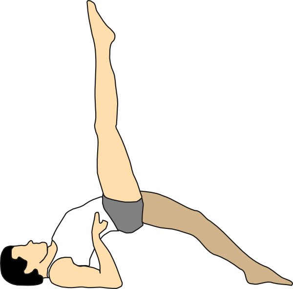 Stretch clip art at. Exercise clipart stretches