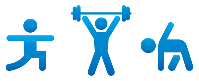 Free fitness cliparts download. Exercise clipart summer