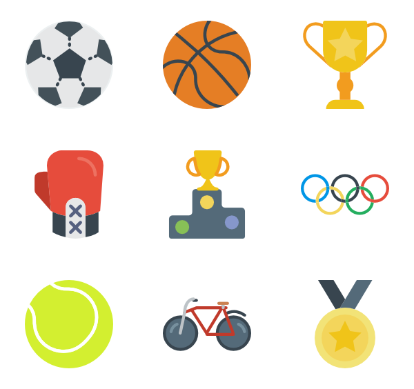 Football vector png. Exercise icons free sport