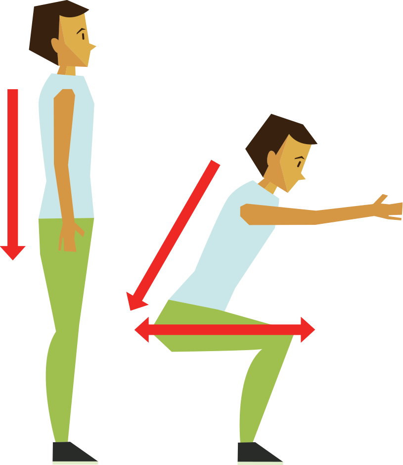 No gym problem good. Exercise clipart toe touches
