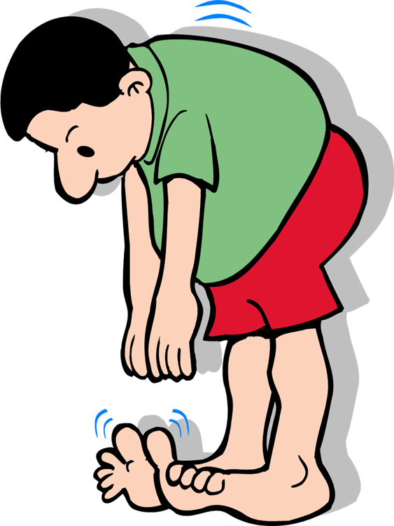 Exercise clipart toe touches. Free touch cliparts download