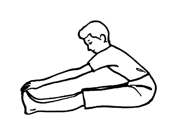 Exercise clipart toe touches. Clip art library