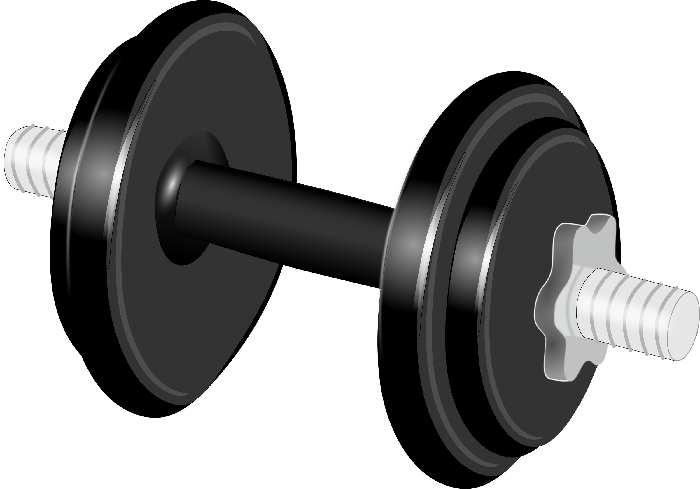 Dumbbell hantel png image. Weight clipart invisible background