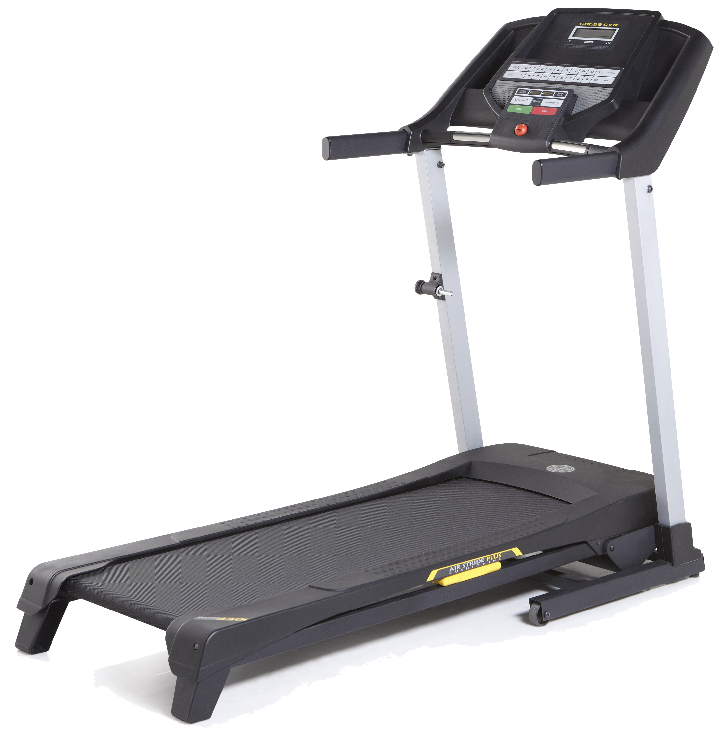 Support golds gym . Exercise clipart treadmill