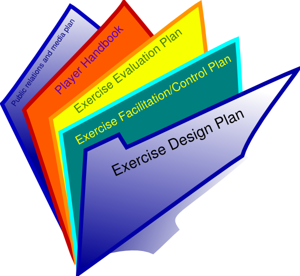 document clipart exercise plan