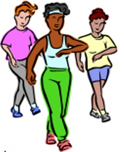 Free walk cliparts download. Exercise clipart walking