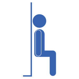 Fit drills website . Exercise clipart wall sit
