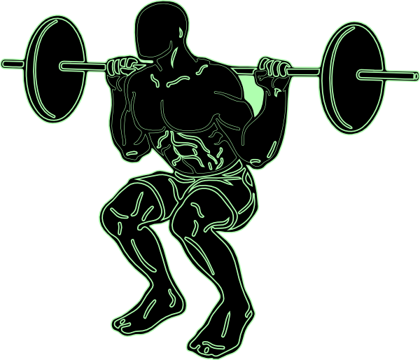 Clipart exercise weightlifting. Weight lifter clip art