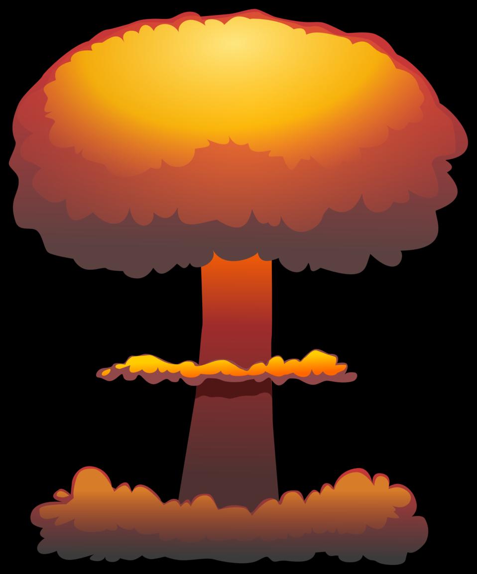 Clipart explosion. Public domain clip art
