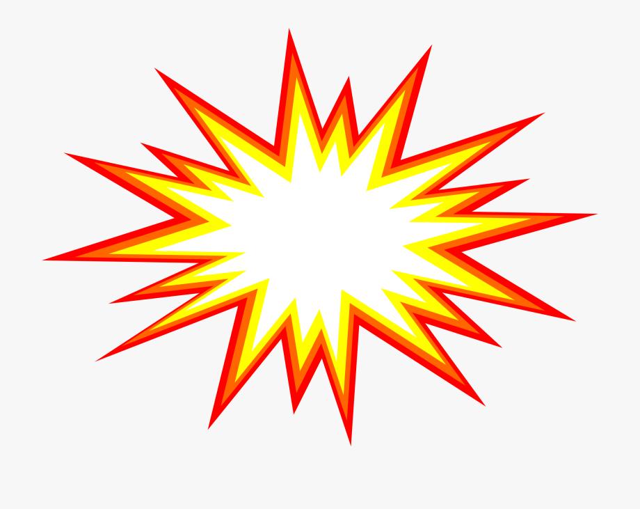 Burst clipart cartoon. Explosion star starburst transparent