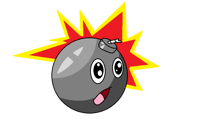 Clipart explosion animated. Gif bomb by java
