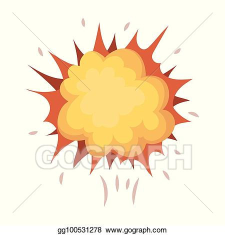 Clipart explosion bitmap. Vector stock superhero the